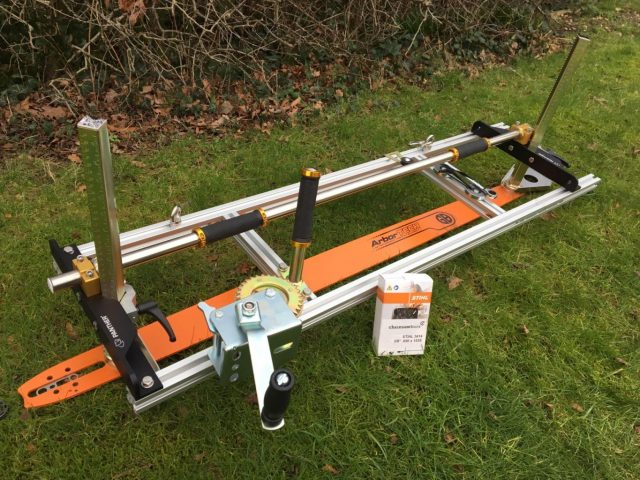 """PM-42-GB36 Panther Horizon Chainsaw Mill 36"""" with GB 36"""" Lo Pro Milling Bar 3/8 Lo Pro .050 115 drive links"""