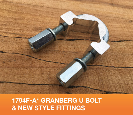 1794F-A* Granberg U Bolt And New Style Fittings