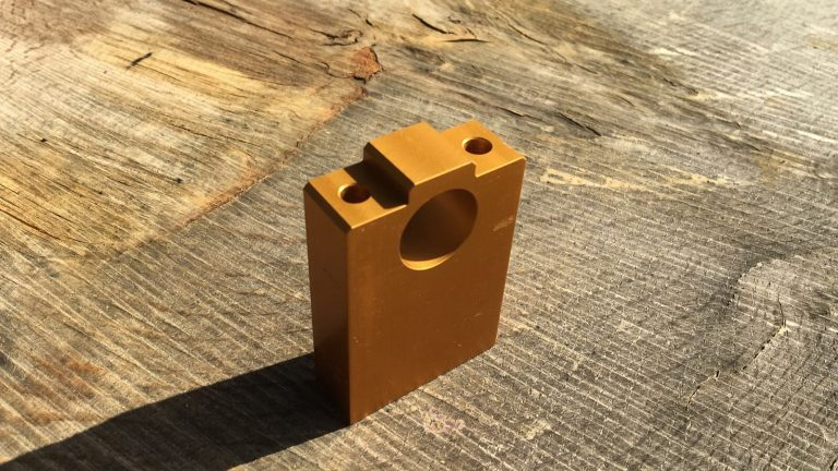 CM004_T Pinion Block Tall Longer Panther Mills (includes fittings)