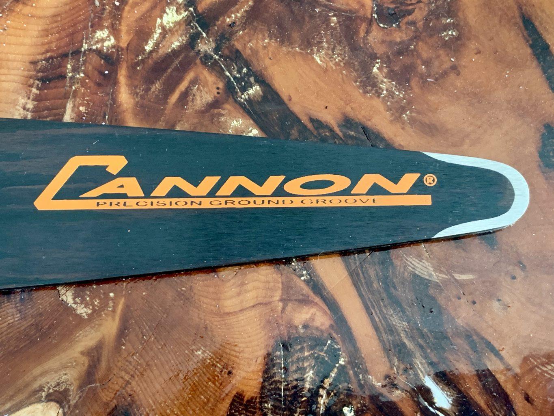 """CCQ-C1-20-43 Cannon Carving Quarter Tip 20"""" [50cm] 3/8 Lo Pro .043 72 drive links or .325 .043 80 drive links or 1/4"""" .043 102 drive links"""