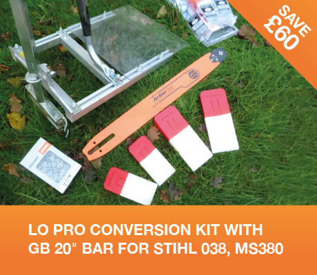 lo pro conversion kit with gb 20 bar for stihl 038, MS380