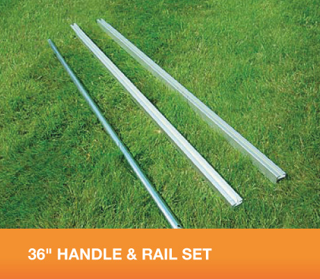 "36"" HANDLE & RAIL SET - OUT OF STOCK UNTIL MAY 14th."