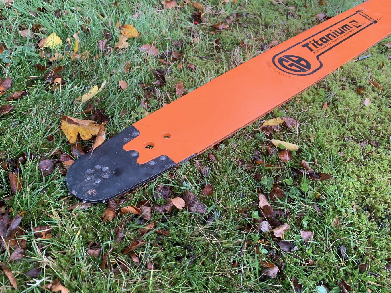 "HSS84-63RQ 84""[212cm] GB Slotted Extra Long 8 Foot Bar for Stihl 050, 051, 070, 075, 076, 08, 090, 088, MS880 .404 .063 222 drive links"