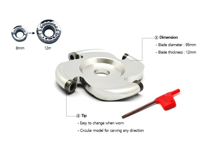 """MP21-4-12 Manpa Circular Cutter Disc 4"""" [12mm Cutting Teeth][Direct to Angle Grinders or Multi Cutter][PRE ORDER FOR 25% OFF RRP DELIVERY 1ST AUGUST]"""