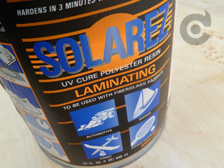 5 litres UV cure resin