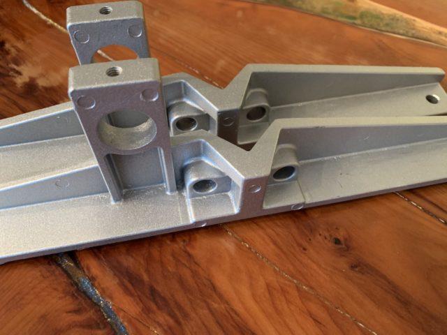 2xSMCB 2x Spare Cast Aluminium End Brackets [Mk III Mills]