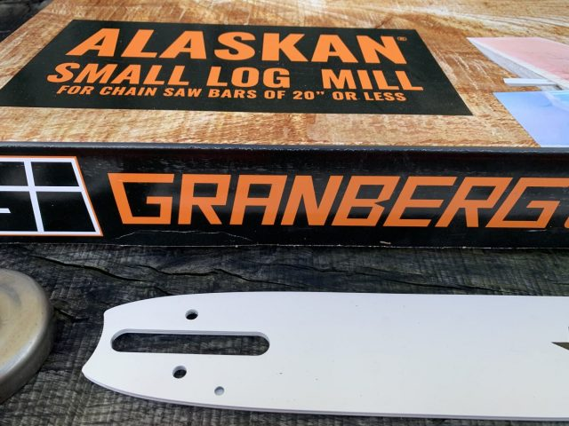 "ST-SL-SNHL20-50WR Small Log Mill Lo Pro Conversion Kit GB 20""[50cm] Bar Stihl MS341, MS361, MS362 3/8 Lo Pro .050 72 drive links"