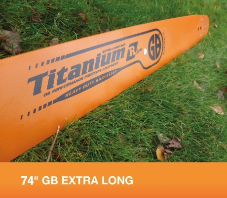 "74"" GB EXTRA LONG BAR FOR STIHL 050, 051, 070, 075, 076, 08, 090, 088, MS880"