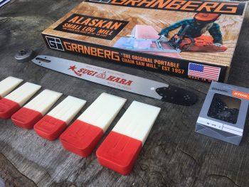 """ST-SL-Sugihara20-3/8-D025 Small Log Mill Kit 20"""" Sugihara Bar Stihl 029, 034, 036, 039, 041, 042, 044, MS290, MS360, MS361, MS362, MS390, MS391, MS440, MS441"""