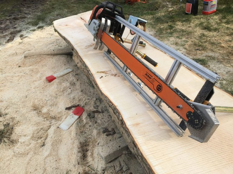 """PM-60-GB54 New Panther Chainsaw Mill 60"""" with GB 54"""" Milling Bar .404 .063 148 drive links"""