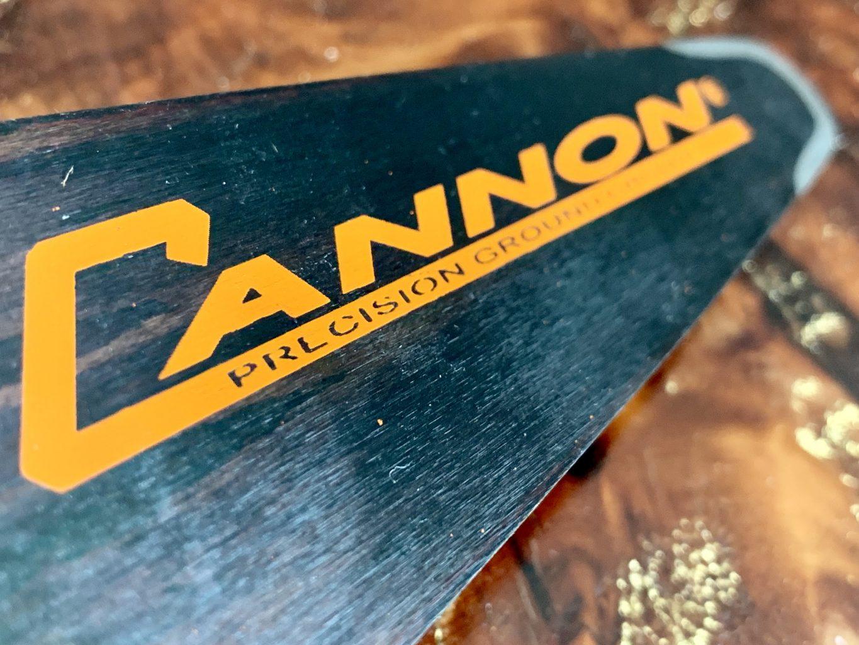 "CCQ-C1-14-50 Cannon Carving Quarter Tip 14""[35cm] 3/8 Lo Pro .050 53 drive links or 1/4"" .050 78 drive links"
