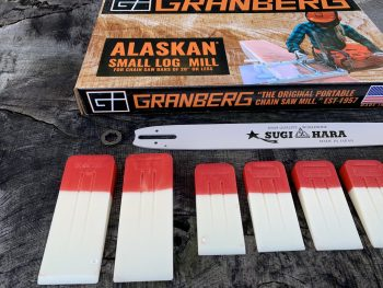 "ST-SL-SNHL20-50WR Small Log Mill Lo Pro Conversion Kit GB 20""[50cm] Bar Stihl MS391 3/8 Lo Pro .050 72 drive links"