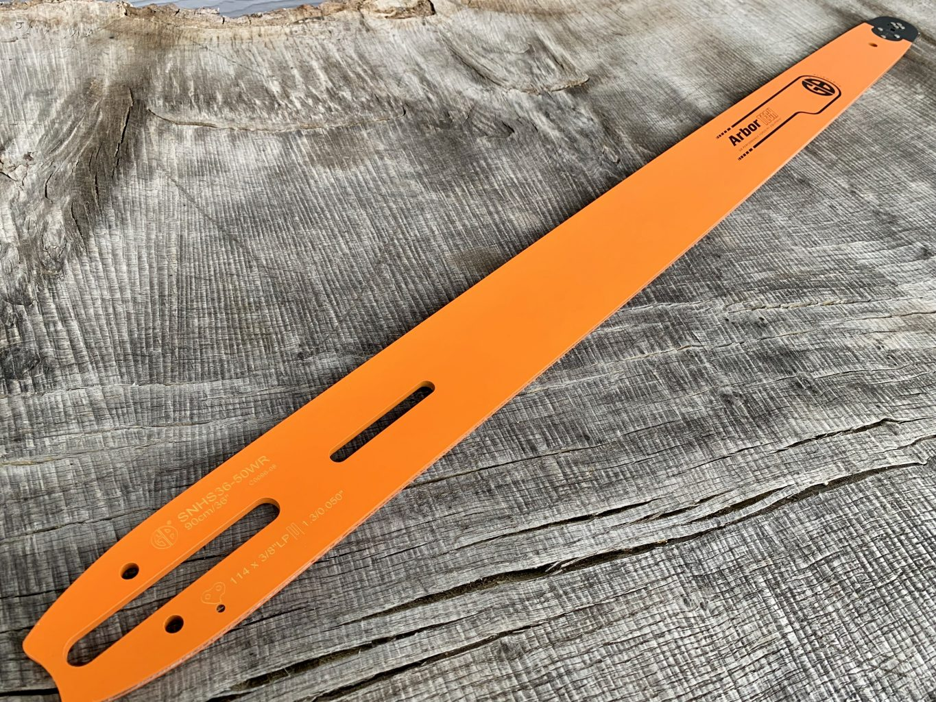 """HSS74-63RQ 74""""[188cm] GB Slotted Extra Long 6 Foot Bar for Stihl 050, 051, 070, 075, 076, 08, 090, 088, MS880 .404 .063 196 drive links"""