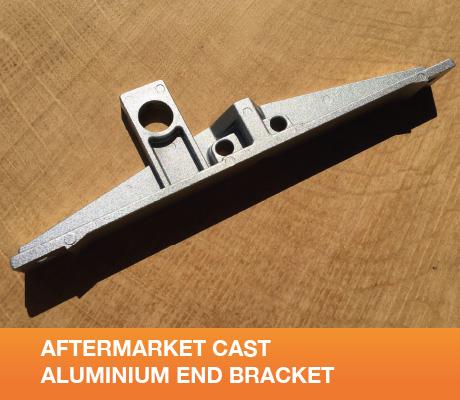 AFTERMARKET CAST ALUMINIUM END BRACKET