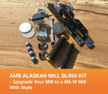 AMB Alaskan Mill Bling Kit - Upgrade Your Mill to a Mk IV Mill With Style