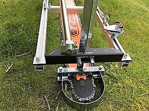 """HU-SNHL42-50WR-Kit 42"""" Lo Pro Milling Kit 42"""" Lo Pro GB Bar 365XP, 372XP, 575XP, 576XP, 385XP, 390XP, 394XP, 395XP 3/8 Lo Pro .050 137 drive links"""