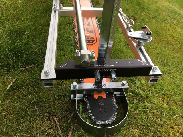 """AU-HS7463RQ-404-E031 Granberg Ultimate Milling Kit 74"""" GB Pro Bar Stihl 070, 075, 076, 08, 088, 090, MS880 .404 .063 196 drive links"""