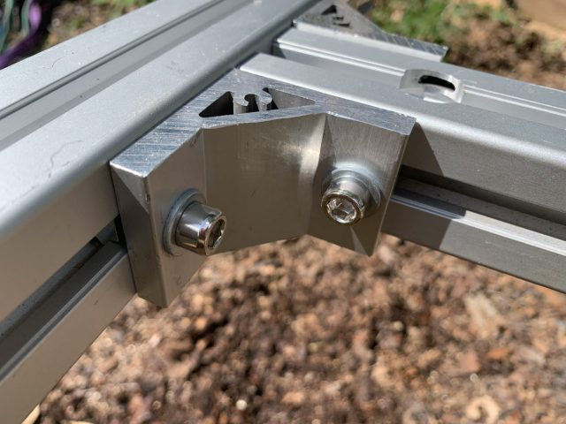 NEW 4xPB-EHB 4x First Cut System Fixing External L Brackets
