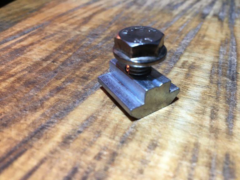 PM-12MM-40S 1st Cut System M8mm Bolt [12mm Long], Large Slot Nut