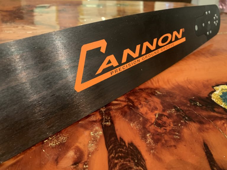 Cannon Chainsaw Bars