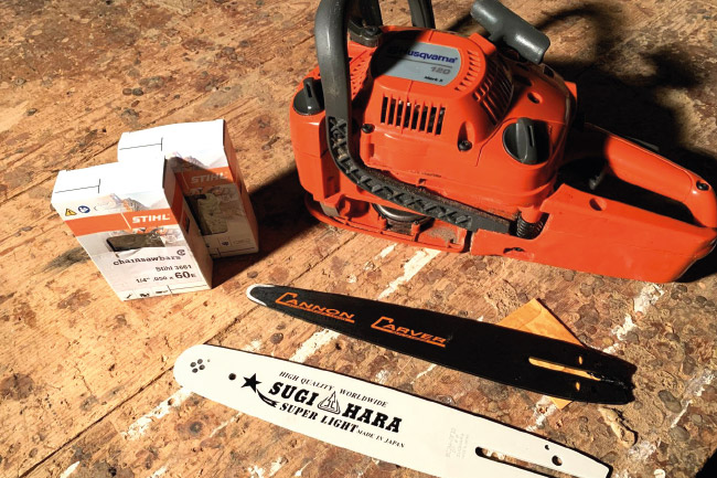 Chainsaw Carving Starter Packages