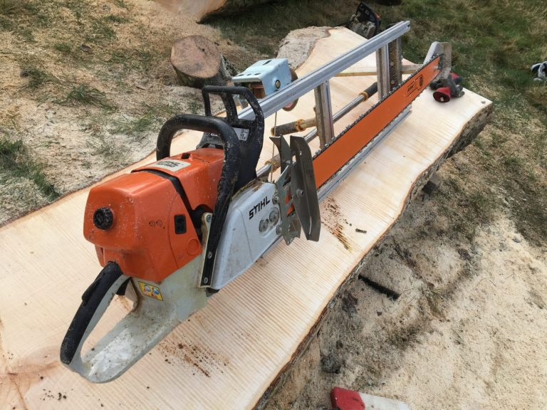 "PM-60-GB64 New Panther Chainsaw Mill 60"" with GB 64"" Milling Bar .404 .063 180 drive links"
