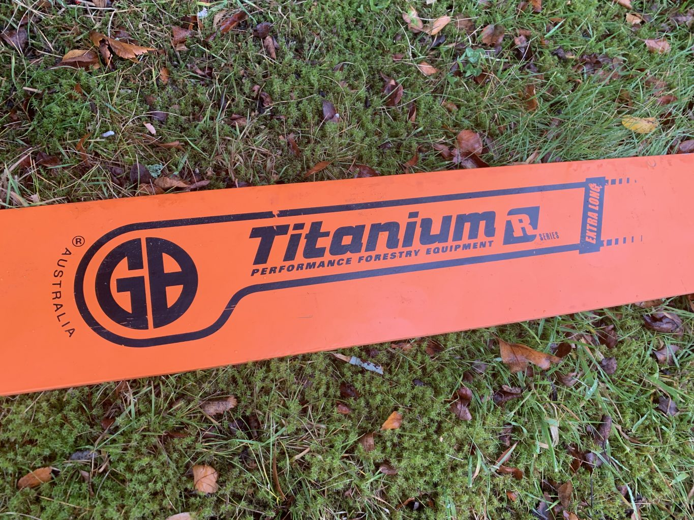 """HSS84-63RQ 84""""[212cm] GB Slotted Extra Long 8 Foot Bar for Stihl 050, 051, 070, 075, 076, 08, 090, 088, MS880 .404 .063 222 drive links"""