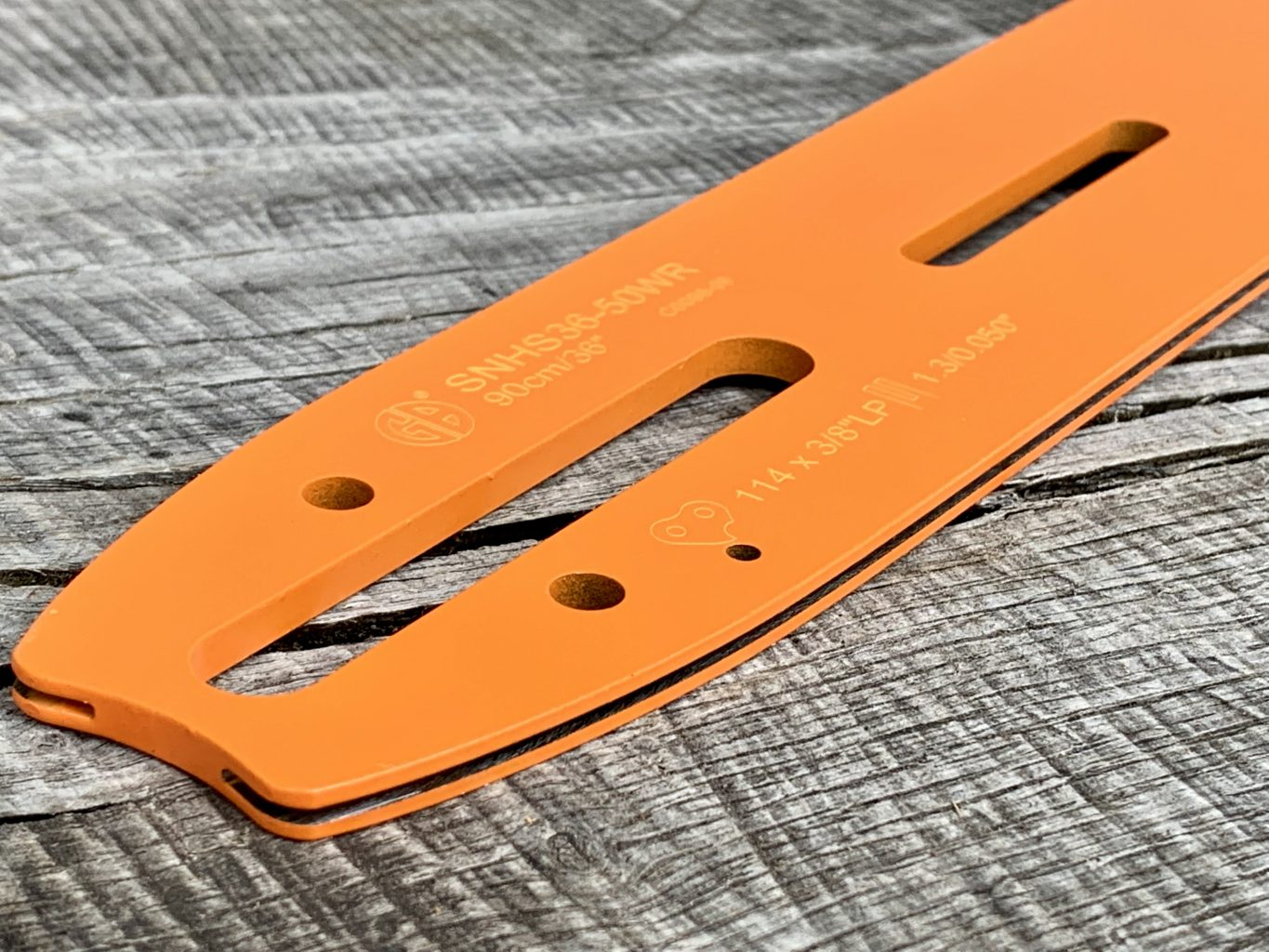 """HSS48-50WR 48""""[122cm] GB Slotted Lo Pro Milling Bar For Stihl 066, MS660, MS661 + GB1214 Adapter 3/8 Lo pro .050 153 drive links"""