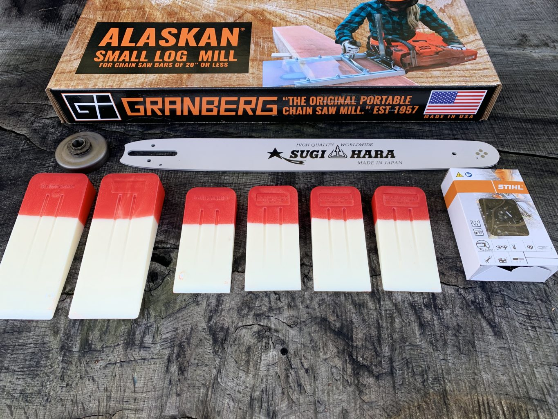 "ST-SNHL20-50WR Small Log Mill Lo Pro Conversion Kit GB 20""[50cm] Bar Stihl 026, 027, 028, MS260, MS270, MS280 3/8 Lo Pro .050 72 drive links"