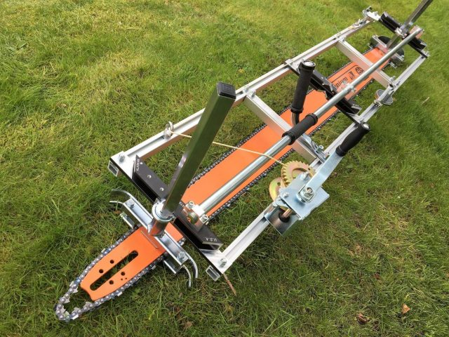 "AU-HS7463RQ-404-D009 Granberg Milling Kit 74""[188cm] GB Pro Bar Husqvarna 2100, 2101, 3120XP .404 .063 180 drive links"