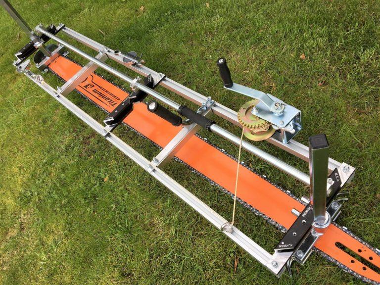 "AU-HS6463RQ-404-D009 Granberg Milling Kit 64""[163cm] GB Pro Bar Husqvarna 2100, 2101, 3120XP .404 .063 180 drive links"