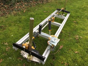 "PM-70/80 *Excludes Bar and chain* Panther Horizon Heavy Chainsaw Mill 60"" + 8mm Drill Bit"