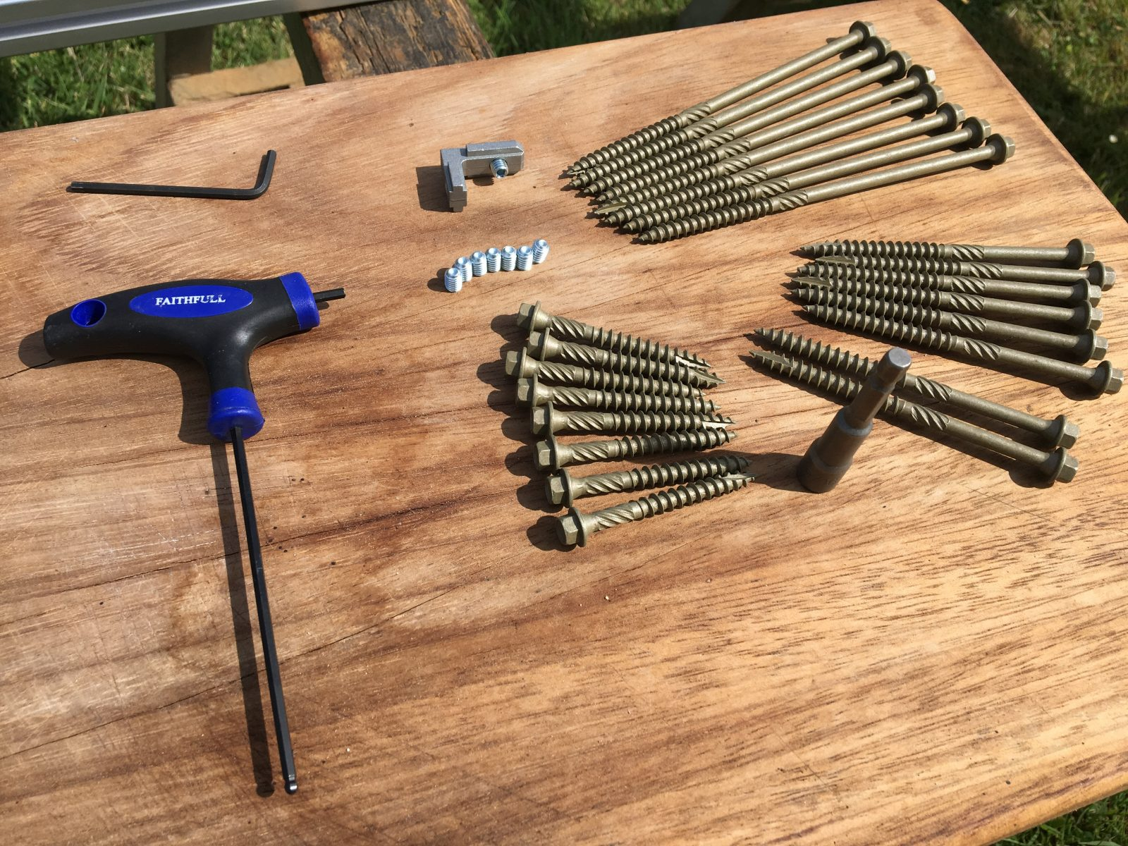 PFKH Panther Fixing Kit for HEAVY First Cut Systems
