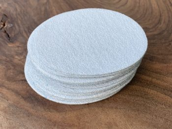 "MP-SP-4-220-x20 Manpa Sanding Paper 4"" 220 Grit [20 Per Pack]"