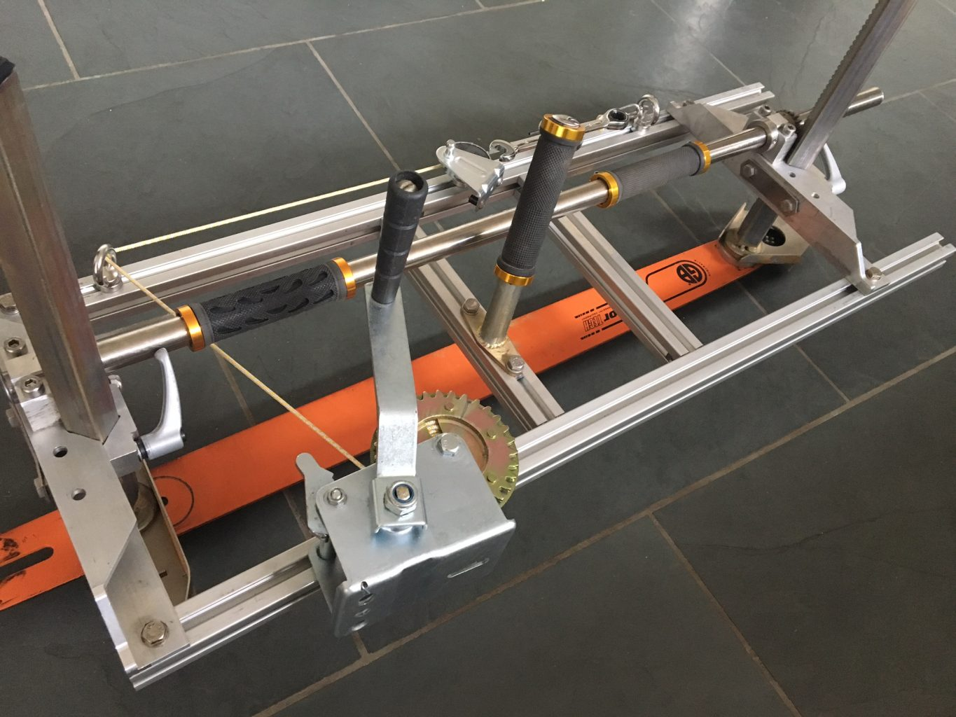 """PM-64 New Panther Chainsaw Mill 64"""" with GB 64"""" Milling Bar [Sold out at CONFOR show pre order for delivery mid Oct and save £100-00]"""