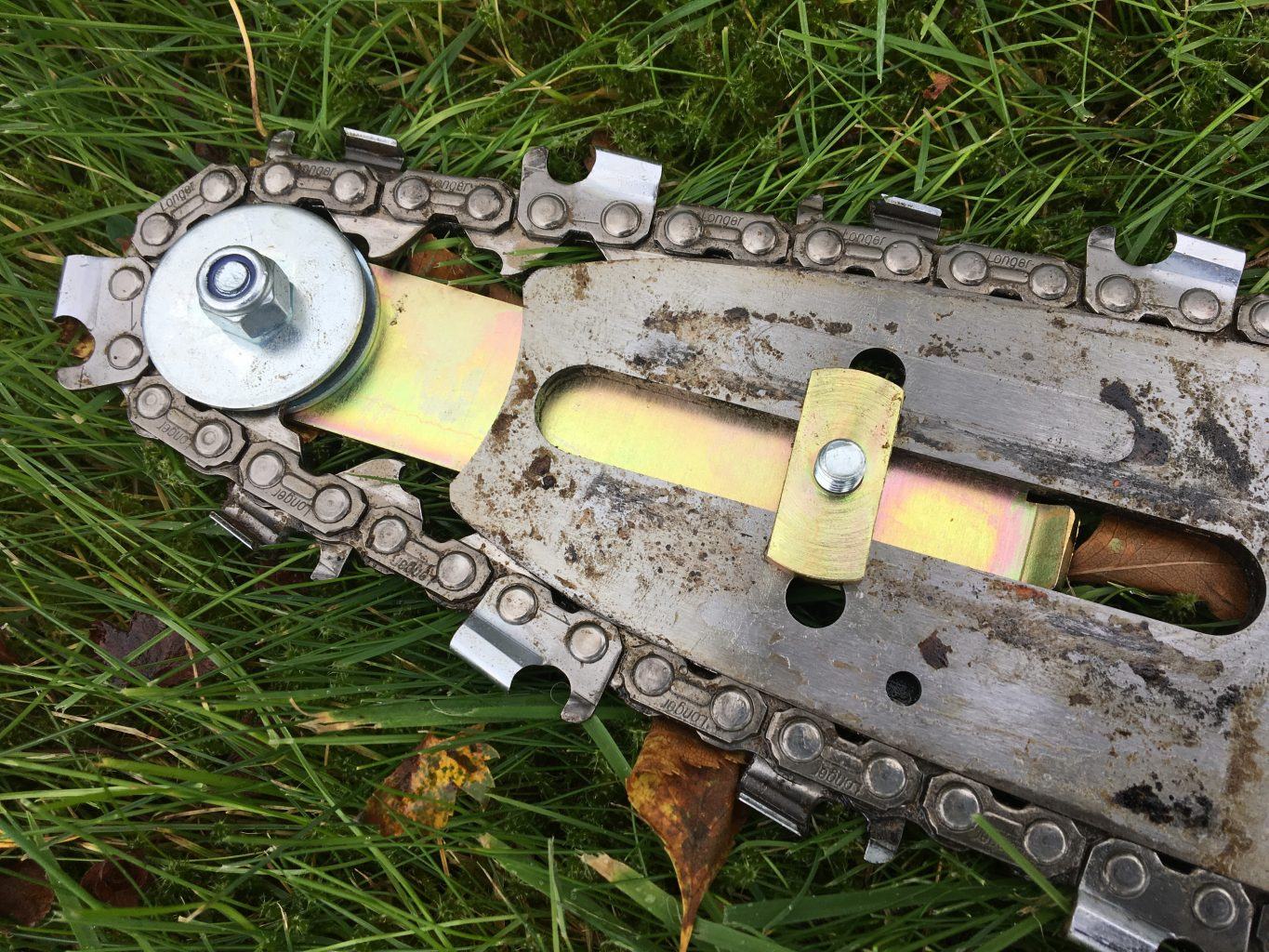 P-CK Panther Bar and Chain Keeper - Brand New Product! Med and Large Stihl only but you could adapt... (for 12mm slot)