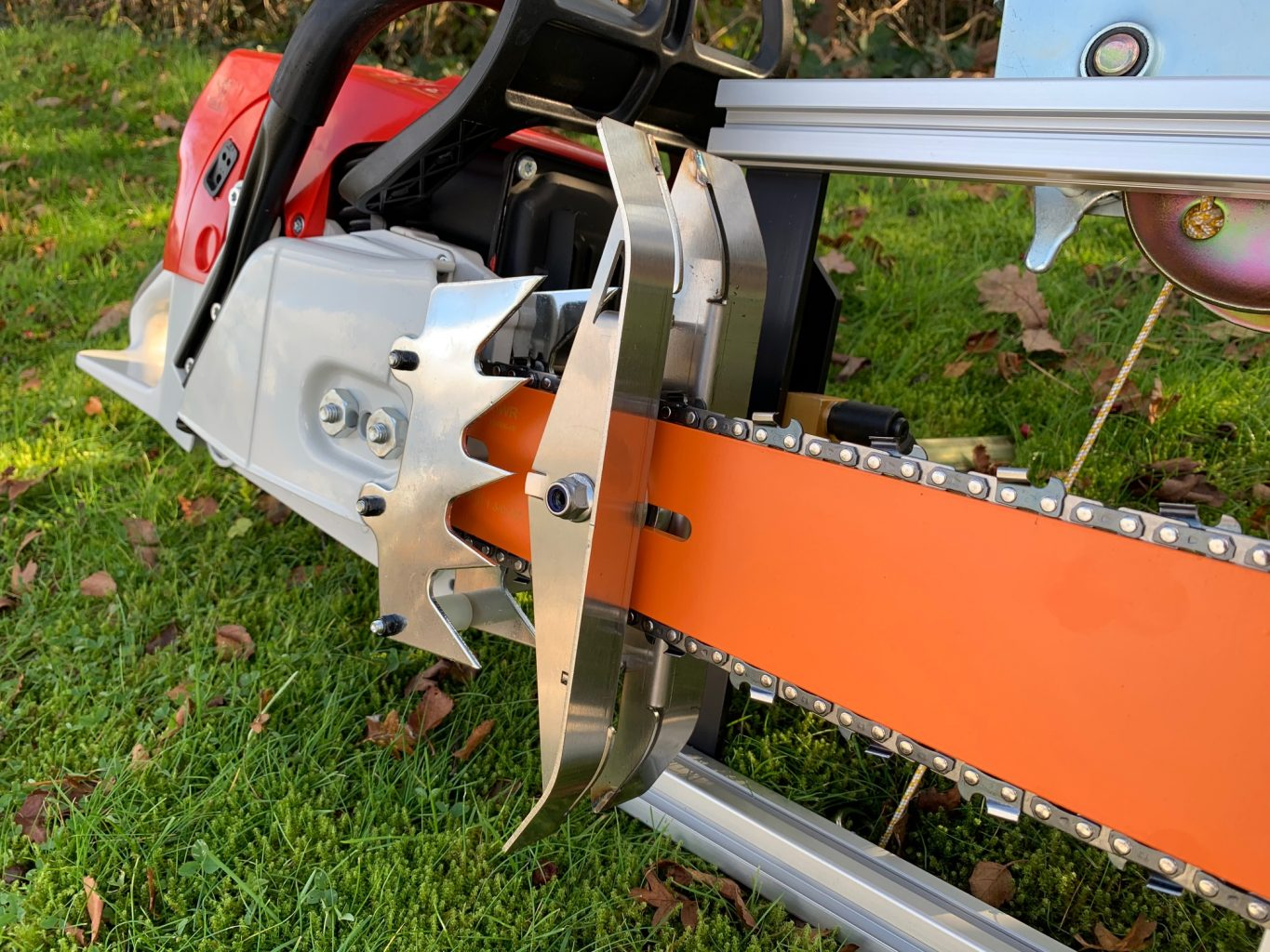 """PM-42-GB42-NT Panther Horizon Chainsaw Mill 42""""[107cm] + NT9200 + GB 42""""[107cm] Lo Pro Milling Bar 3/8 Lo Pro .050 137 drive links"""