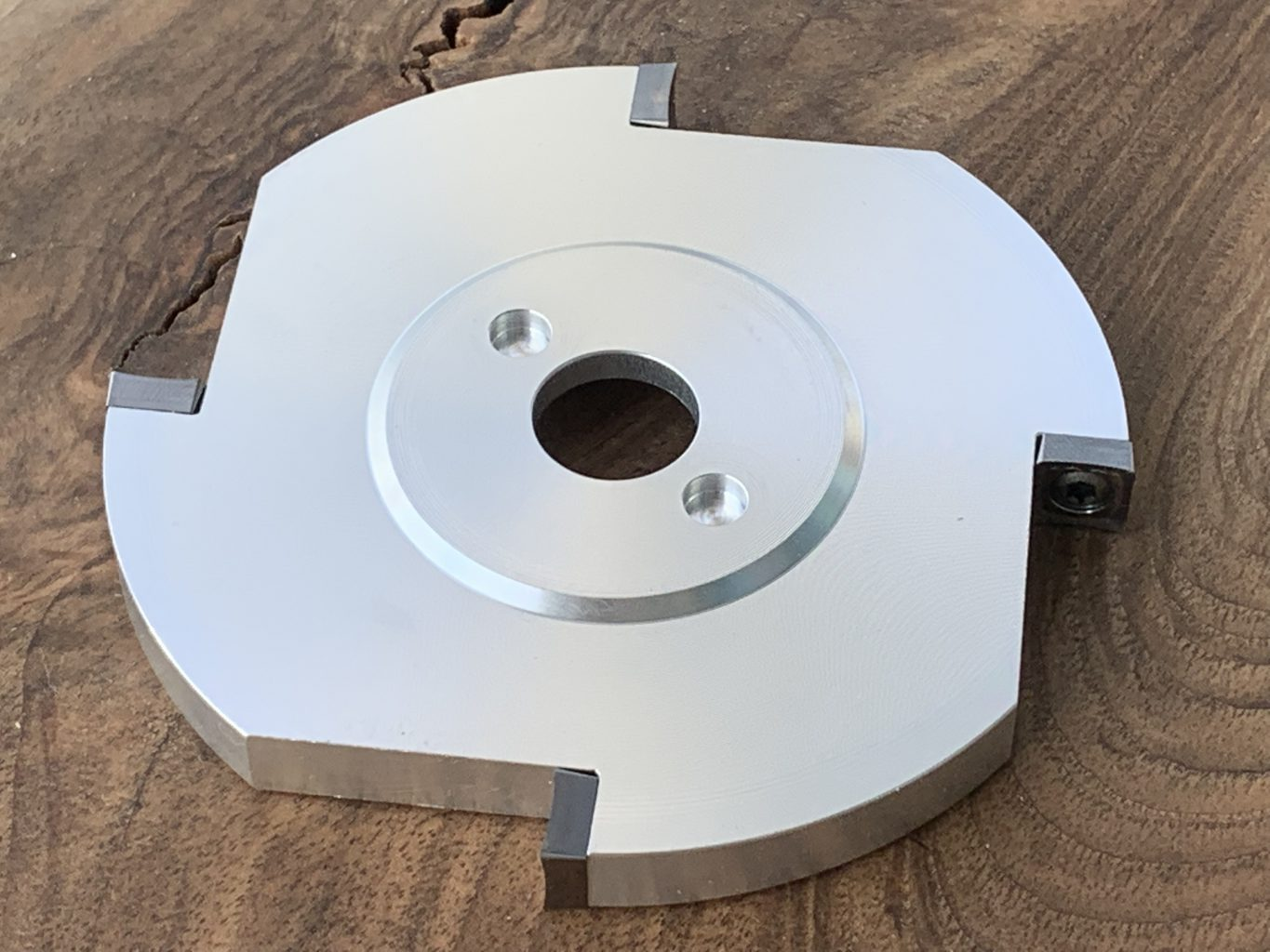 """MP21-5-4 Manpa Quadrangle Cutter Disc 4"""" [Direct to Angle Grinders or Multi Cutter][PRE ORDER FOR 25% OFF RRP DELIVERY 1ST AUGUST]"""