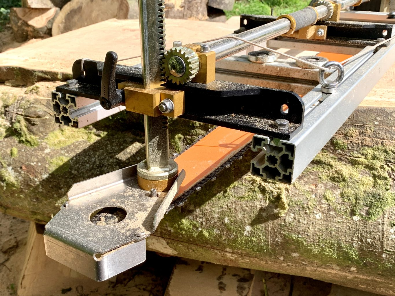 """PM-60 New Panther Horizon Heavy Chainsaw Mill 60""""[155cm]"""