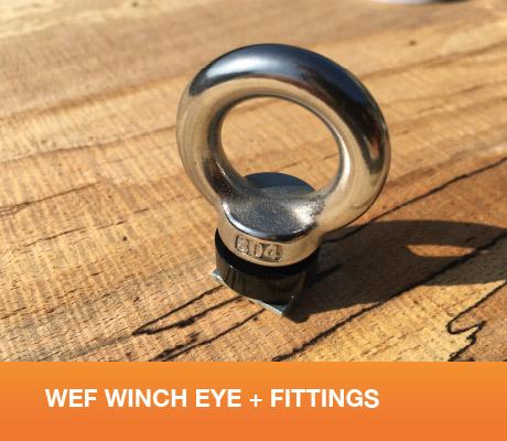 WEF Winch Eye + Fittings