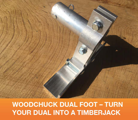 WCT05 Woodchuck Dual Foot - Turn Your Dual Into A Timberjack