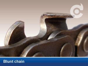 Blunt chain