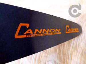"CCQ-C1-8-50 Cannon Carving Quarter 8""[20cm] 3/8 Lo Pro .050 34 drive links or 1/4"" .050 52 drive links"
