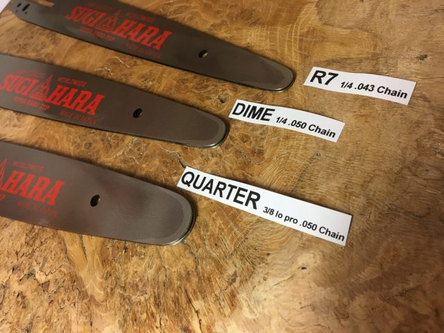"BN6A-0Y35T-AL Sugihara Tough Carver Quarter Tip 14"" 3/8 Lo Pro .050 54 drive links or 1/4"" .050 78 drive links"