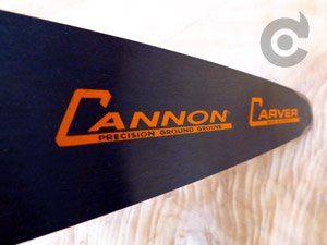 Cannon Carving Quarter Chainsaw Bars