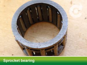 sprocket bearing