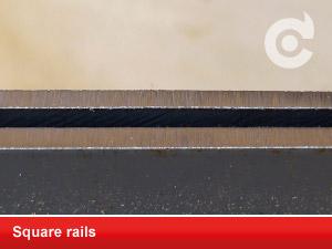 square rails