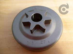 11416402 Stihl Spur Sprocket 3/8 x7 tooth